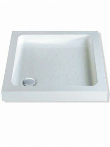 MX ABS CLASSIC 800X800 SQUARE SHOWER TRAY INCLUDING WASTE
